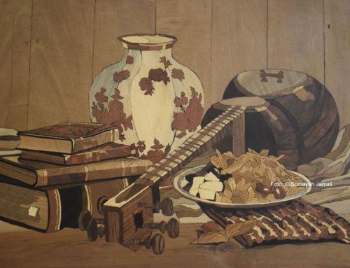 Geklebt: Kunst aus Holz